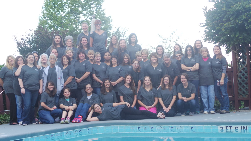womens retreat group photo 2015