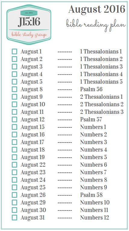 Current J15:16 Reading Plan